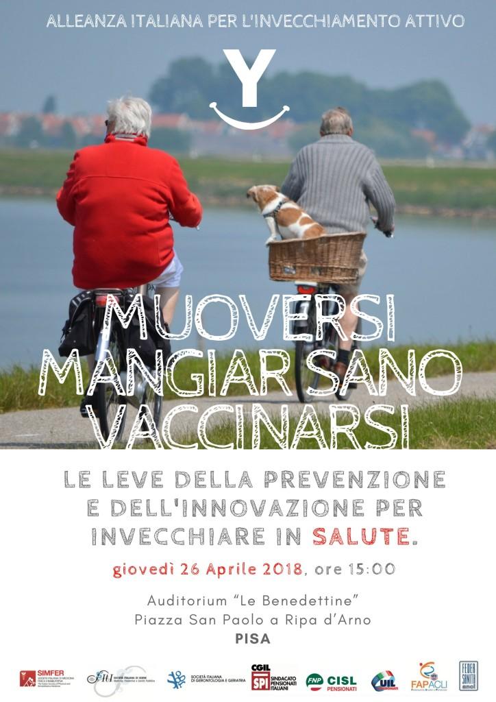 Muoversi, mangiar sano, vaccinarsi