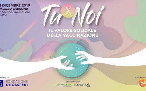 """Convegno""""TuxNoi – Il valore solidale della vaccinazione"""", il 4 dicembre a Roma"""