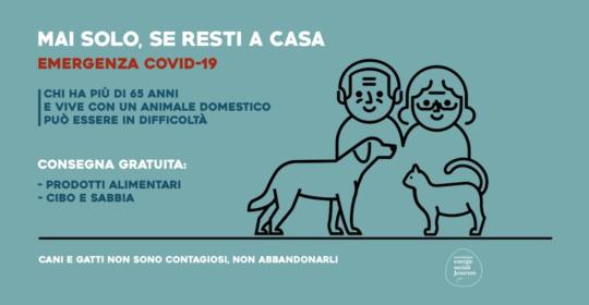 Coronavirus, Milano aiuta gli over 65 e i loro animali