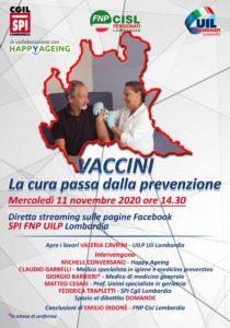Webinar Vaccini, la cura passa dalla prevenzione